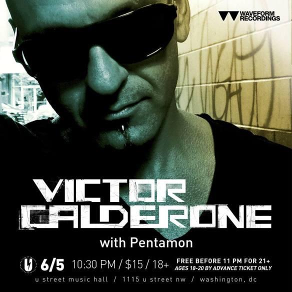 Victor Calderone with Pentamon at U Street Music Hall