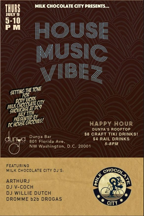 Rooftop Happy Hour House Vibez Pt. 3 at Dunya