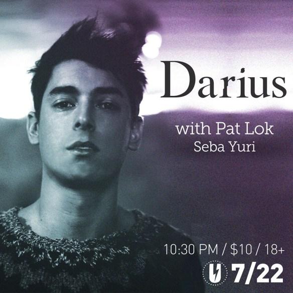 Darius with Pat Lok & Seba Yuri at U Street Music Hall
