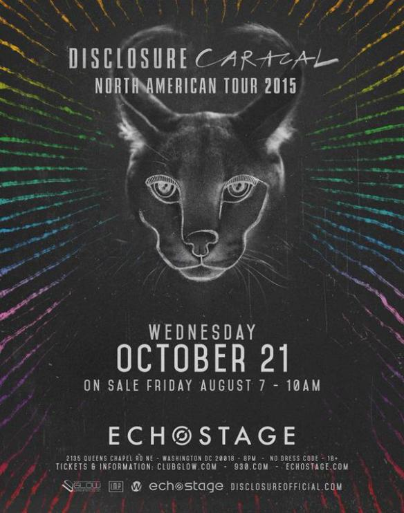 Disclosure with Claude VonStroke and Pomo at Echostage - SOLD OUT!