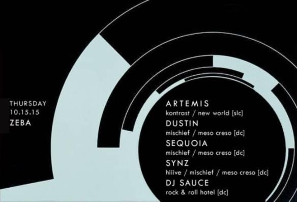 Technetium REDUX featuring Artemis (SLC, UT) at Zeba Bar