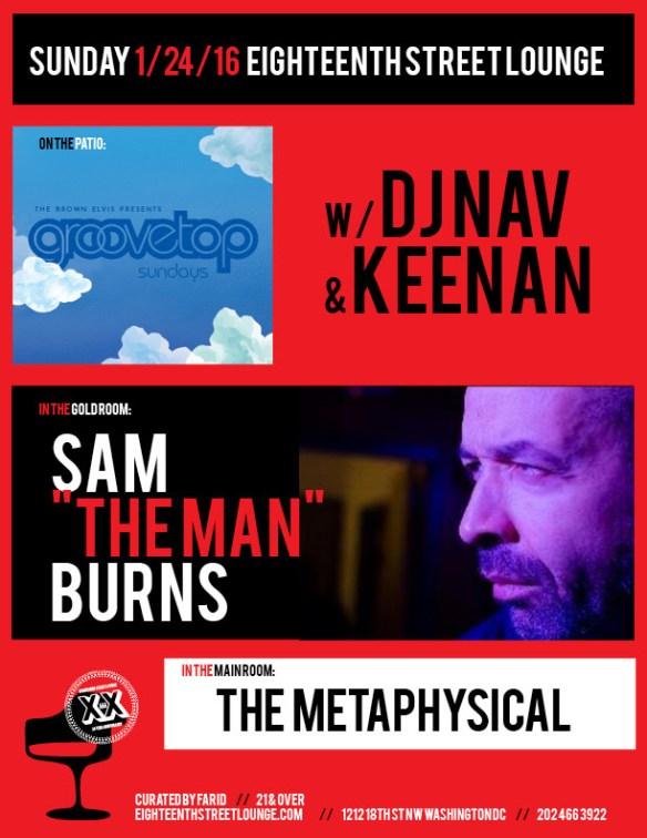 Groovetop w/ Dj Nav & Keenan at Eighteenth Street Lounge