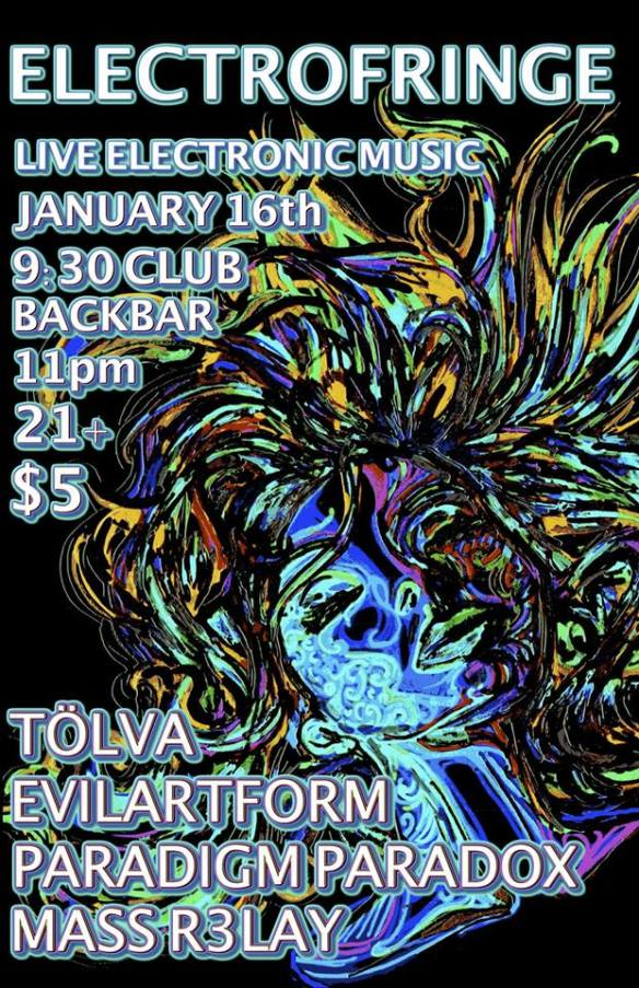ElectroFringe at the 9:30 Club Back Bar