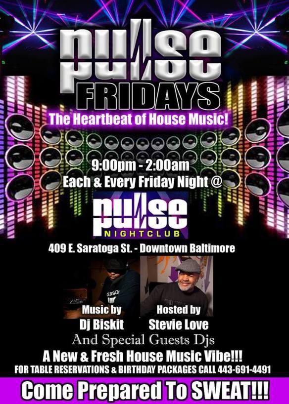 Pulse Fridays with Dj Bizkit at Pulse Nightclub, Baltimore