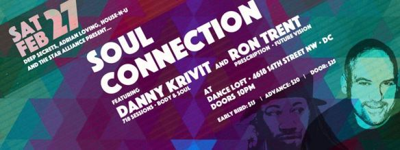 Soul Connection with Danny Krivit & Ron Trent at The Dance Loft