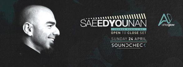 Saeed Younan Open to Close at Soundcheck