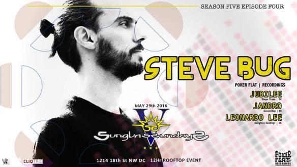 Sunglass Sundays with Steve Bug at Public Bar