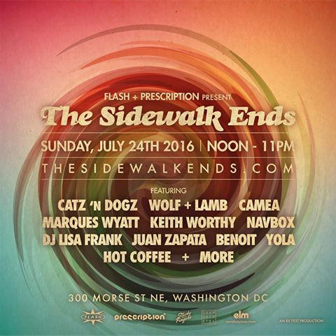 The sidewalk ends