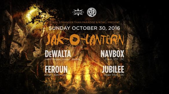 Jak-o-Lantern Halloween on the Roof DeWalta, Jubilee, Feroun, Navbox at Flash