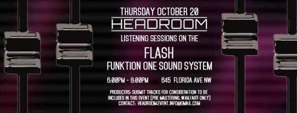 Headroom at Flash