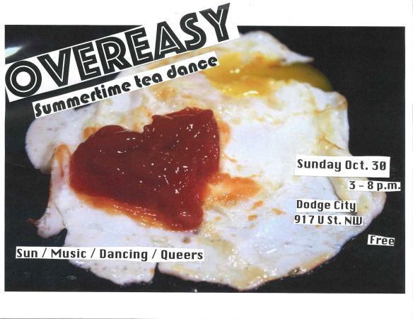 OverEasy Tea Dance: Scared Straight! with DJ Alex DB, Baronhawk Poitier, DJ MIM & DJ Vanniety Kills at Dodge City