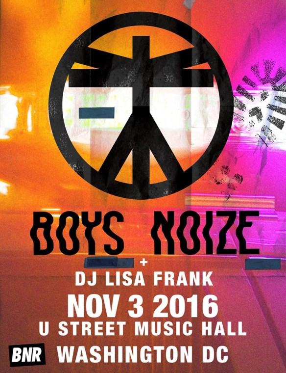Boys Noize with DJ Lisa Frank at U Street Music Hall