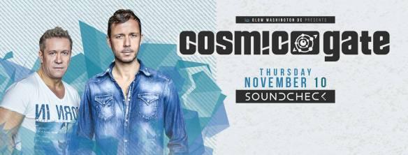 Cosmic Gate at Soundcheck
