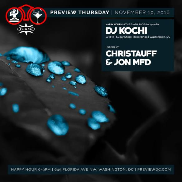 Preview Rooftop Happy Hour with DJ Kochi at Flash
