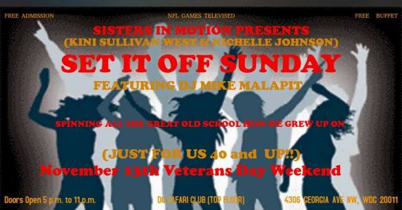 Set It Off Sunday with Mike Malapit at Safari Restaurant and Lounge
