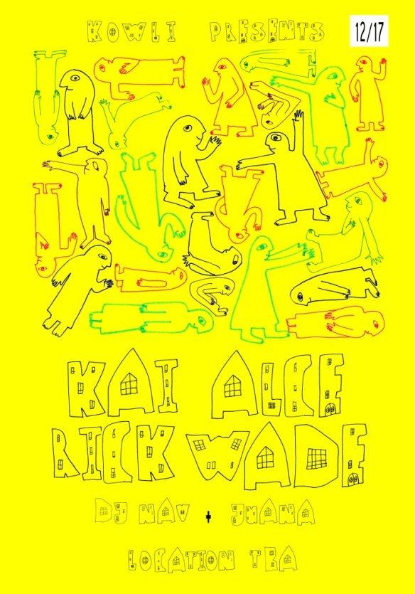 Kowli presents: Kai Alce, Rick Wade, Feroun, DJ Nav & Juana at Secret Location, Baltimore