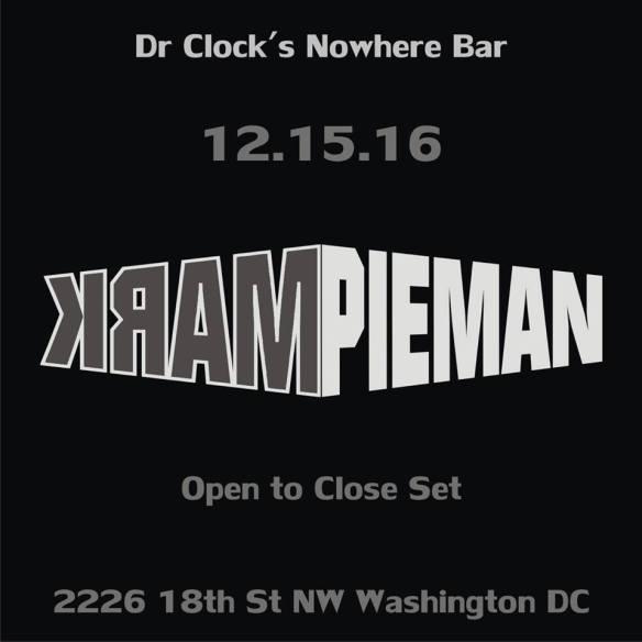 Mark Pieman at Dr. Clock's Nowhere Bar