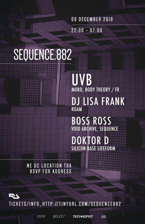 Sequence.882_UVB with UVB, DJ Lisa Frank, Boss Ross & Doktor D at Secret Warehouse Location