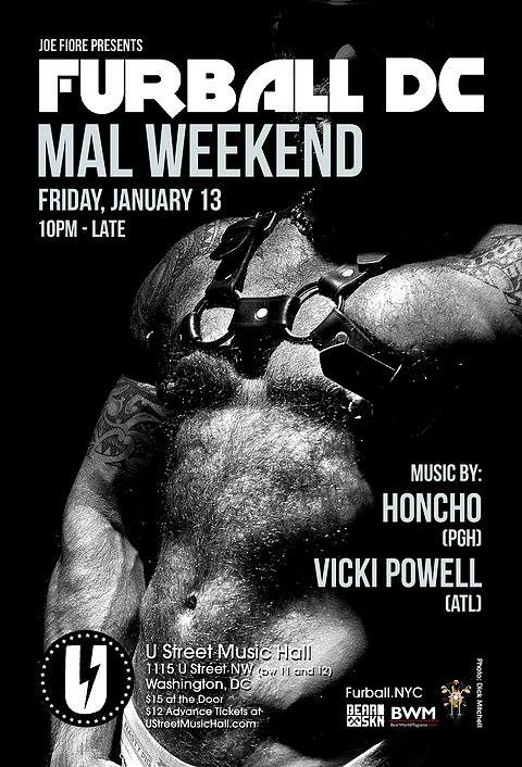 Furball DC: MAL 2017: Honcho & Vicki Powell at U Street Music Hall