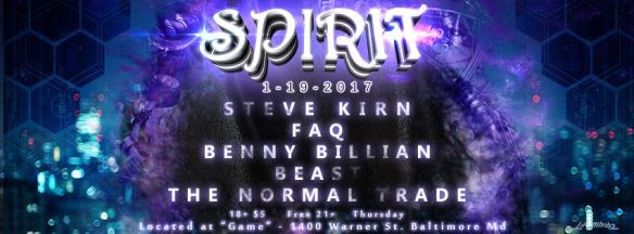 Spirit Featuring: FAQ & Steve Kirn at Game, Baltimore