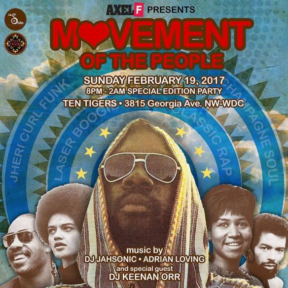 Axel F : Movement of the People with Keenan Orr at Ten Tigers Parlour
