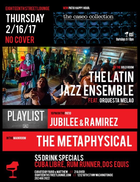 Playlist with Jubilee & Ramirez at Eighteenth Street Lounge