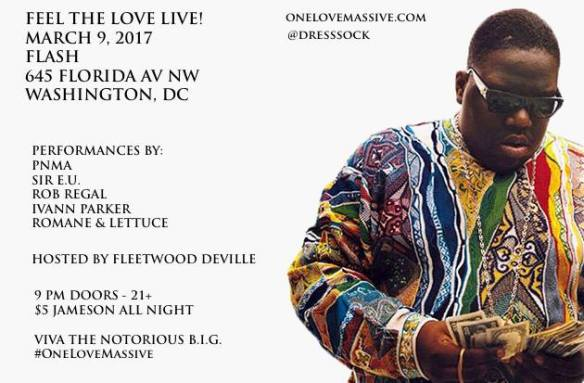Feel the Love, Live ft Fleetwood DeVille, Sir EU & Rob Regal in the Flash Bar