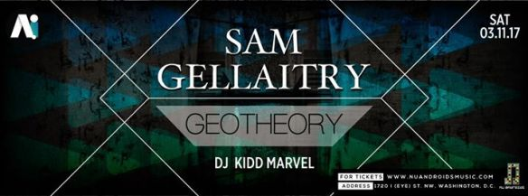 Sam Gellaitry with Geotheory and Kidd Marvel at A.i.