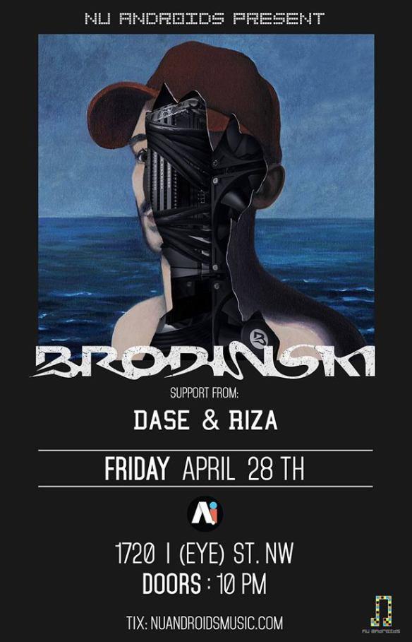 Brodinski with Dase & Riza at A.i.