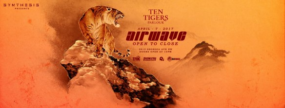 Synthesis presents: Airwave (open to close) at Ten Tigers Parlor