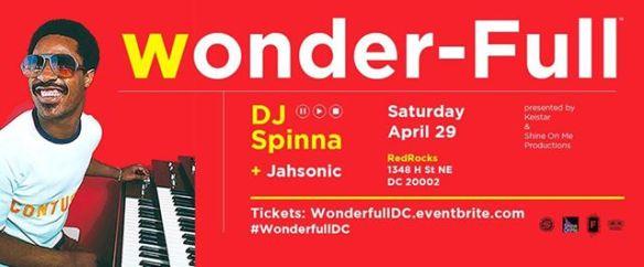 Wonder-Full with DJ Spinna & Jahsonic at Redrocks