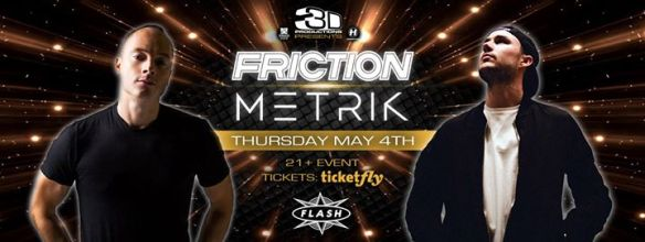 3D Presents: Friction & Metric at Flash