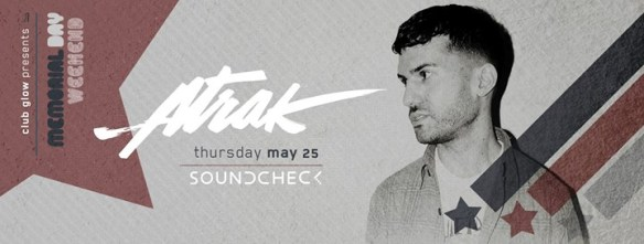 A-Trak at Soundcheck