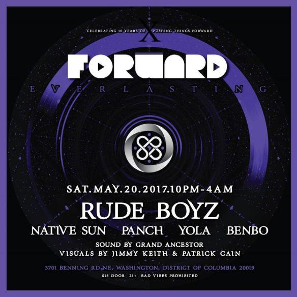 Forward, LENG, & GA present Gqom with RudeBoyz, Native Sun, Panch, Yolo & Benbo at The DC Eagle