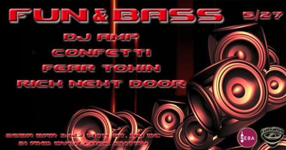 Fun and Bass at Zeba Bar