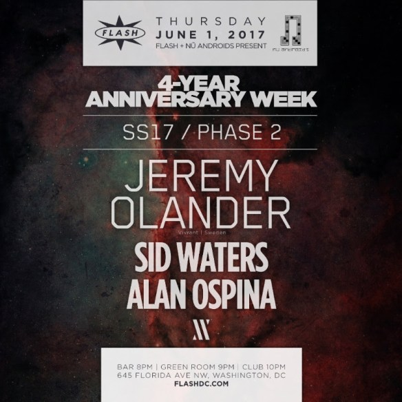 4 Year Anniversary Week: Jeremy Olander at Flash
