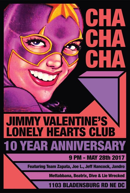 Jimmy Valentine's 10 Year Anniversary with Team Zapata, Joe L, Jeff Hancock, Jandro, Mettabbana, Beatric & Dive & Lie Wrecked at Jimmy Valentine's Lonely Hearts Club