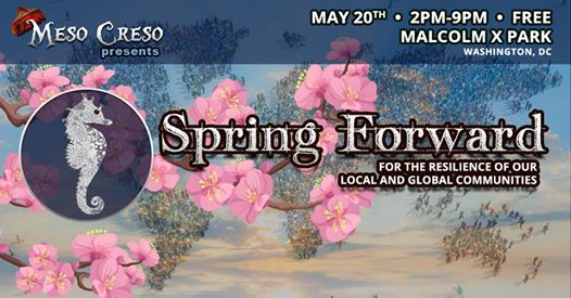 Meso Creso presents: Spring Forward at Malcolm X Park