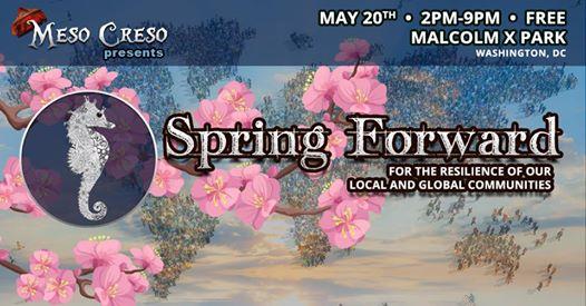 Meso Creso presents: Spring Forward at Malcolm X Park