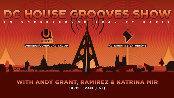 DC House Grooves Show on UQ Radio