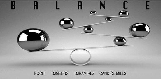 Balance with Kochi, Meegs, Ramirez & Candice Mills at Jimmy Valentine's Lonely Hearts Club