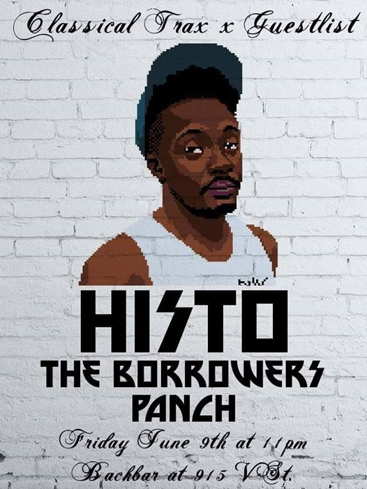 Classical Trax X Guestlist: HI$TO with The Borrowers & Panch at Backbar