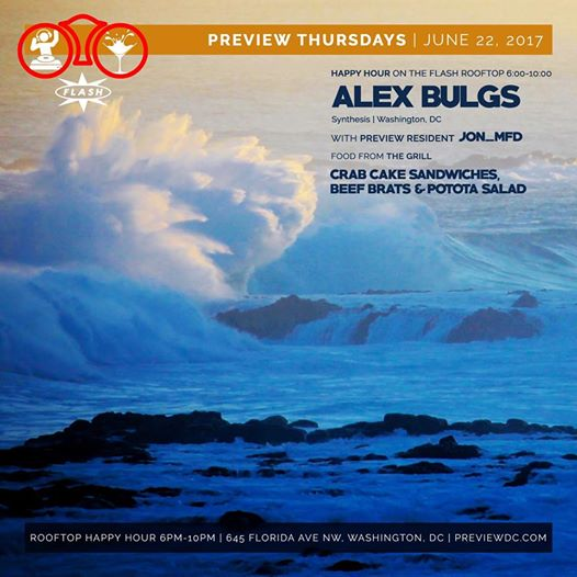 Preview Rooftop Happy Hour ft. Alex Bulgs at Flash