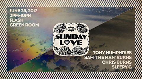 Sunday Love: Tony Humphries, Sam 'The Man' Burns, Chris Burns & Sleepy G at Flash
