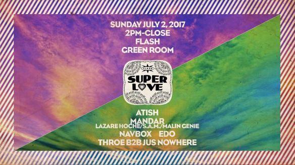 Super Love: Atish, Mandar, Navbox, Edo & Throe B2B Jus Nowhere at Flash