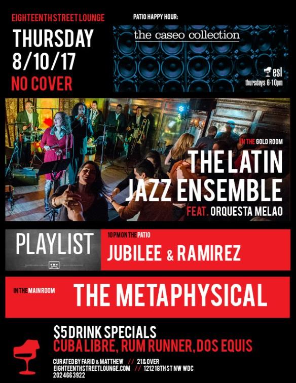 Playlist with Jubilee, Ramirez & Surprise Guest at Eighteenth Street Lounge