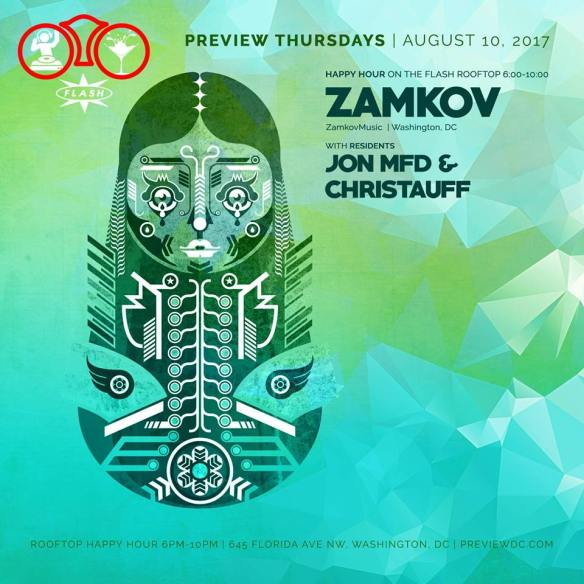 Preview Rooftop Happy Hour ft. Zamkov at Flash