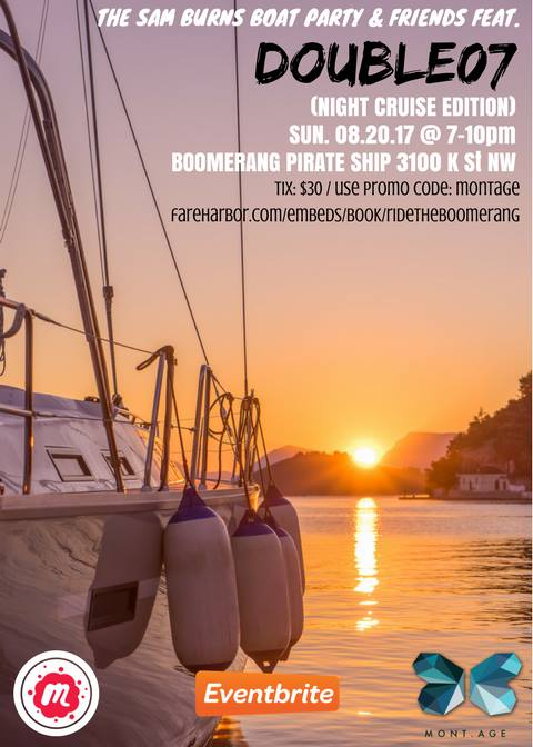 The Sam Burns Boat Party & friends feat. DJ Double 07