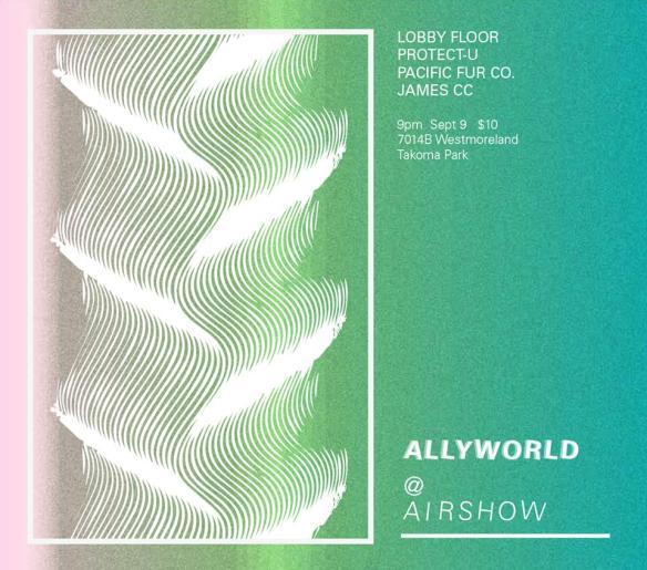 Lobby Floor, Protect-U, James CC & Pacific Fur Company at Allyworld @ Airshow, Takoma Park