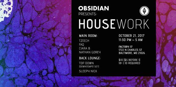 obsidian housework